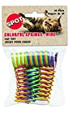 Ethical Pet Wide Durable Heavy Gauge Plastic Colorful Springs Cat Toy, 10 Count per Pack (2 Pack (20 Total))