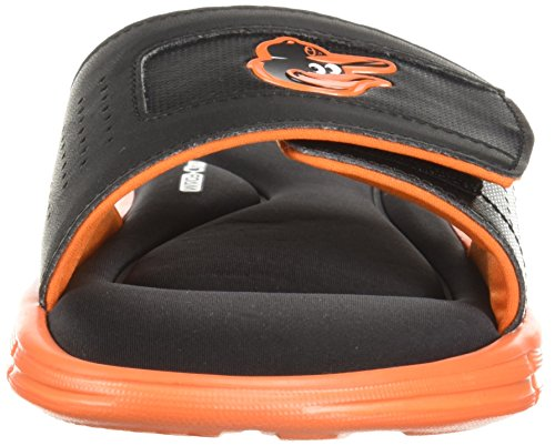 Under Armour Mens Antända Mlb V Slide Svart / Lag Orange / Vit