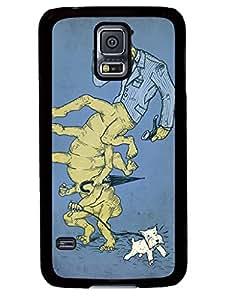 Personalization All too human Centipede Samsung Galaxy S5 I9600 Silicone TPU Cover Case