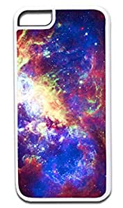 Orion Nebula - Hard WHITE Plastic Snap - On Case -APPLE IPHONE 6 ONLY Great Quality!