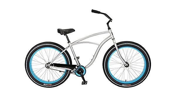Bicicleta Sun Baja Cruz Mens Plata CB: Amazon.es: Deportes y aire ...