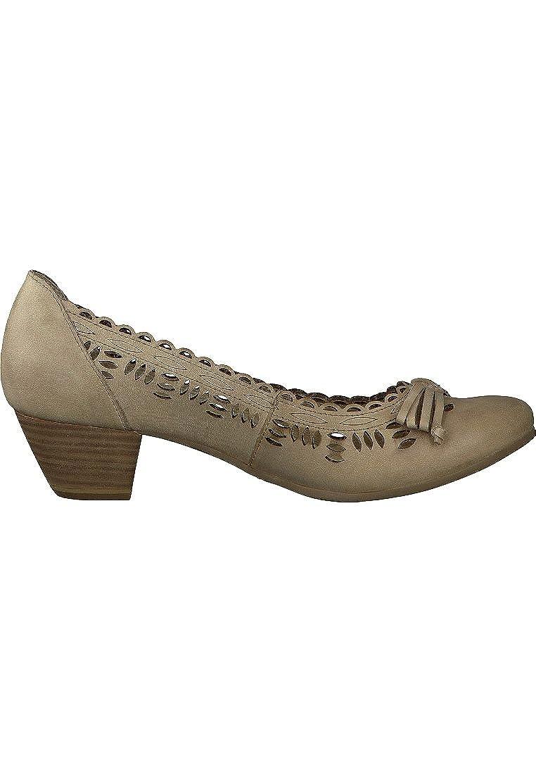 Caprice 9-22205-28 Damen Damen Damen Pumps Leder beige 95c41b