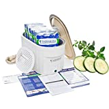 Therabath Professional Thermotherapy Paraffin Bath - Arthritis Treatment Relieves Muscle Stiffness - For Hands, Feet, Face and Body - 6 lbs Cucumber Melon
