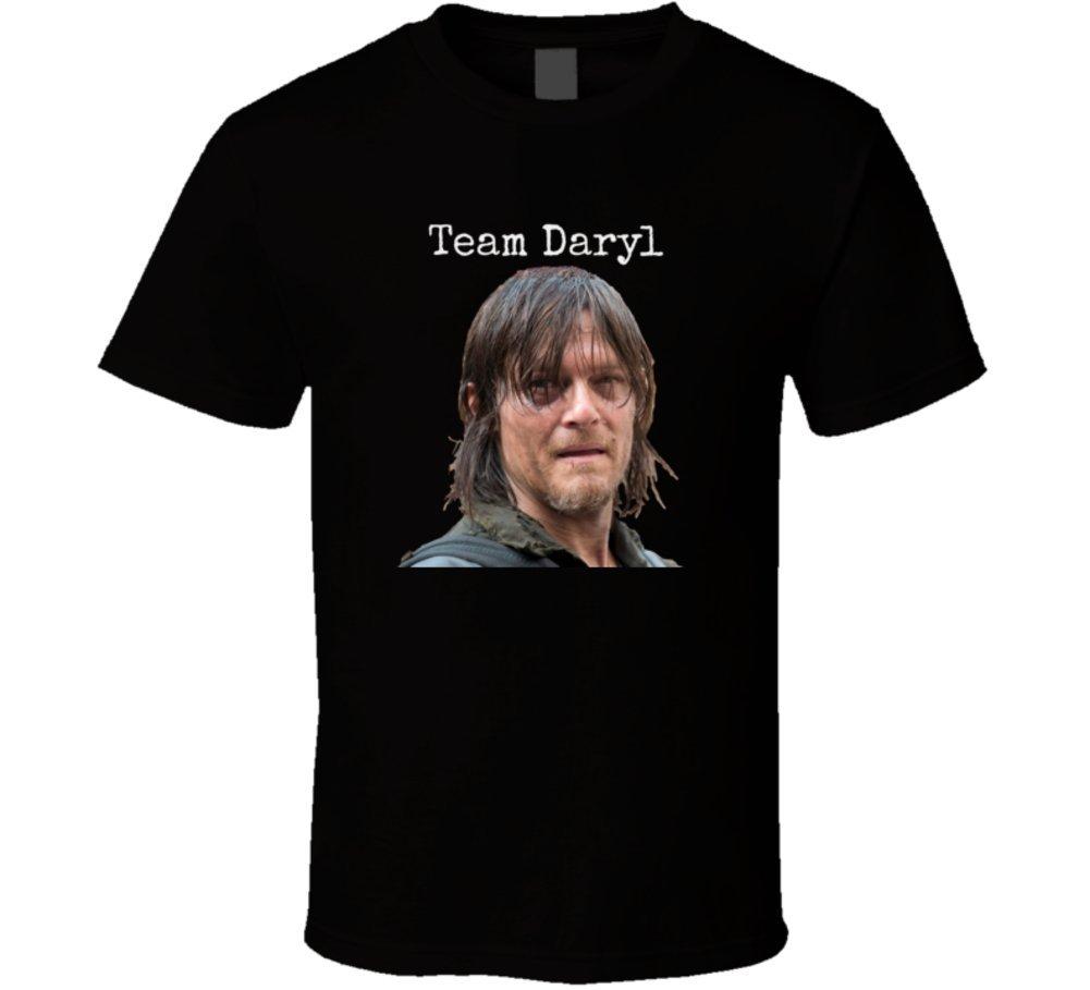 Trendy Tees Team Daryl T Shirt Norman Reedus Walking Dead Novelty Tee 6306