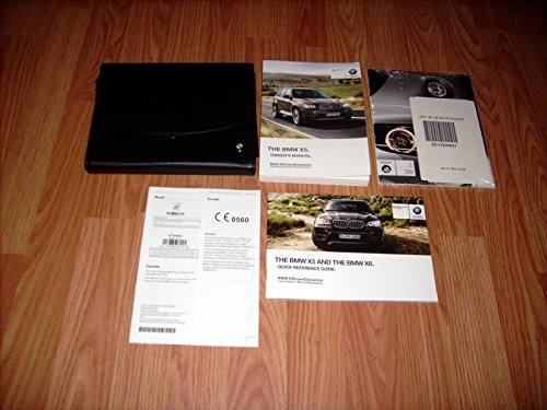 2012 BMW X5 X6 xDrive 35i 50i 35d M Owners Manual with Nav. Sec.