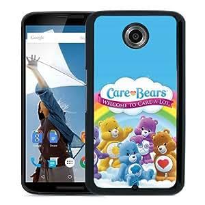 Care Bears Black Popular Sell Customized Design Google Nexus 6 Case