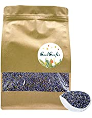 CoolCrafts Dried Lavender Flower Buds, Natural Premium Grade, Perfect for Lavender Sachet, Soap, Candles, Wedding Toss, Cooking - 8 OZ