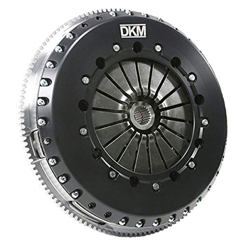 DKM Clutch VW MK4 R32 MS Twin Disc Clutch Kit w/Steel Flywheel