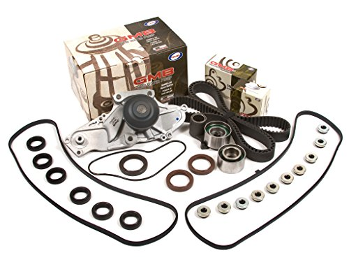 Evergreen TBK286VC 97-04 Honda Pilot Accord Acura TL CL MDX J32A J35A Timing Belt Kit Valve Cover Gasket GMB Water Pump (Odyssey Timing 2000 Belt)