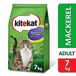 Kitekat Mackerel Flavour Cat Food, 7kg
