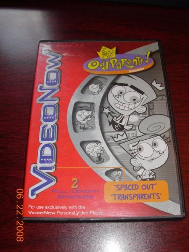 Nickelodeon Video Now The Fairly Odd Parents ''Spaced Out'' & ''Transparents''