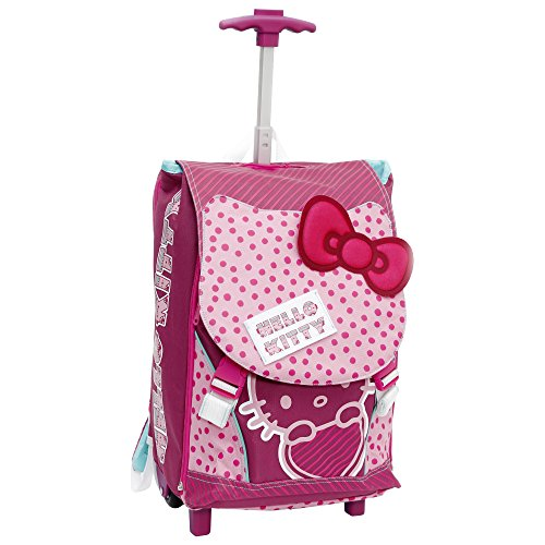 f7ddd7d1e5 Giochi Preziosi - Hello Kitty Zaino/Trolley Scuola, Estensibile
