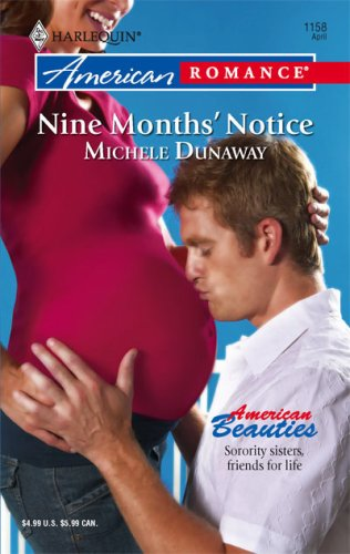 book cover of Nine Months\' Notice