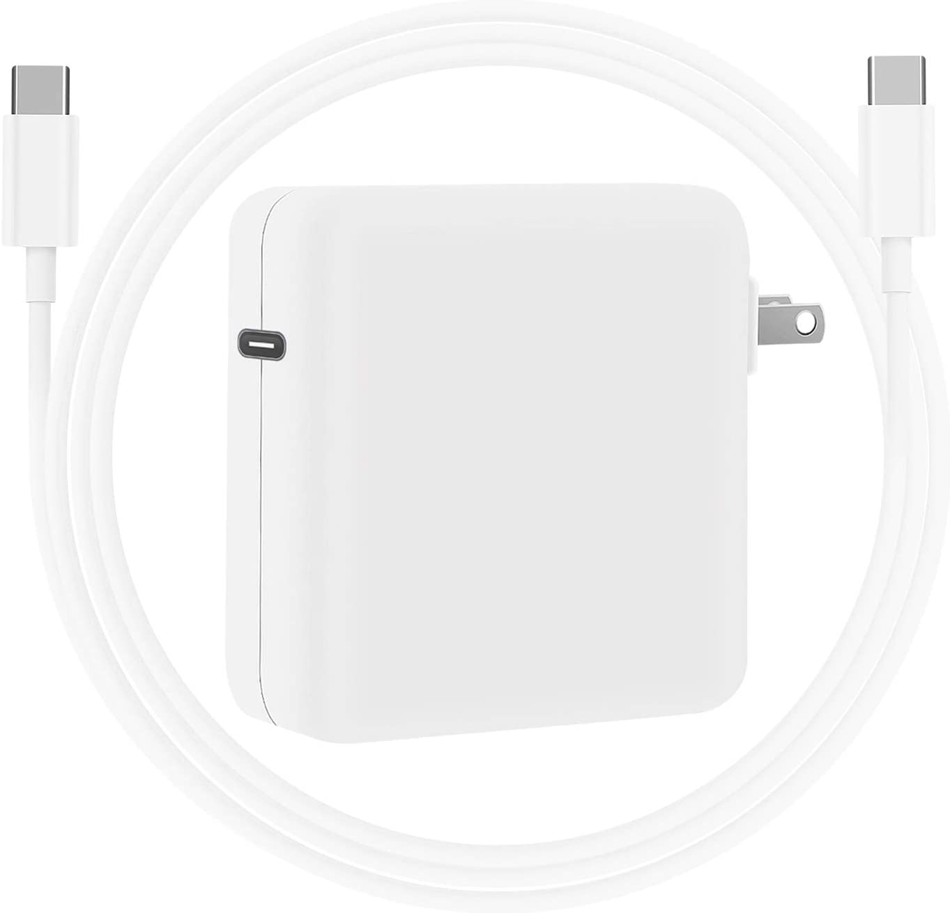 Replacement Mac Book Pro Charger, 87W USB C Power Adapter Compatible with Mac Pro 13/15 Inch, for Mac Book Air After 2018, Include 6.6Ft Charge Cable