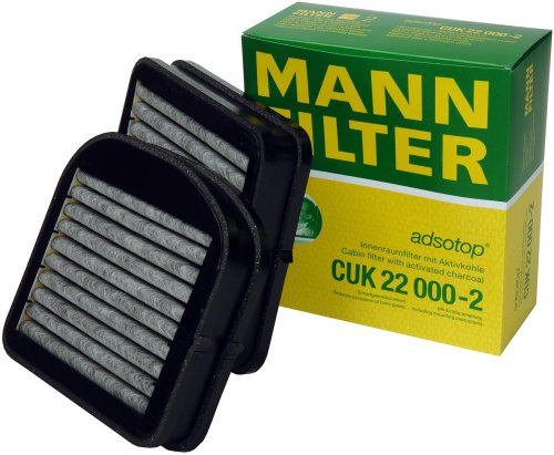 Mann-Filter CUK 22 000-2 Carbon Activated Cabin Filter