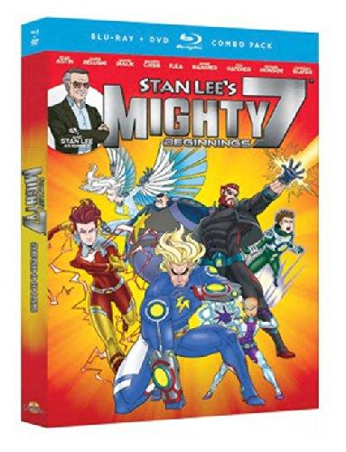 Blu-ray : Stan Lee's: Mighty 7 - Beginnings (With DVD, 2 Pack, 2 Disc)