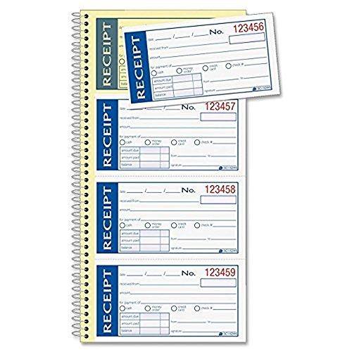 Adams Write n' Stick Receipt Book, White/Canary (ABFSC115...