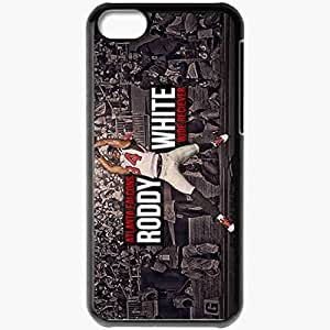 Personalized iPhone 5C Cell phone Case/Cover Skin 14554 falcons wp 40 sm Black