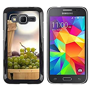 iKiki Tech / Estuche rígido - Fruit Mint Lemon - Samsung Galaxy Core Prime SM-G360