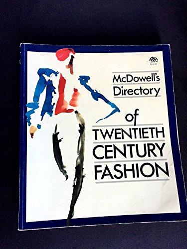 McDowell's Directory of Twentieth Century Fashion
