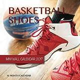 Basketball Shoes Mini Wall Calendar 2017: 16 Month Calendar