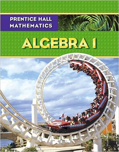 Amazon.com: Prentice Hall Mathematics: Algebra 1 (9780131339965 ...