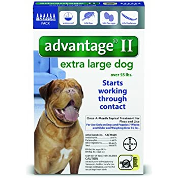 K Advantix Ii X Large Dog Flea Tick Drops