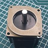 WillBest 1pcs Nema 23 Stepper Motor Damper Pad Anti Vibration Damper Nema 23 Steel & Rubber Damper CNC 3D Printer Mill