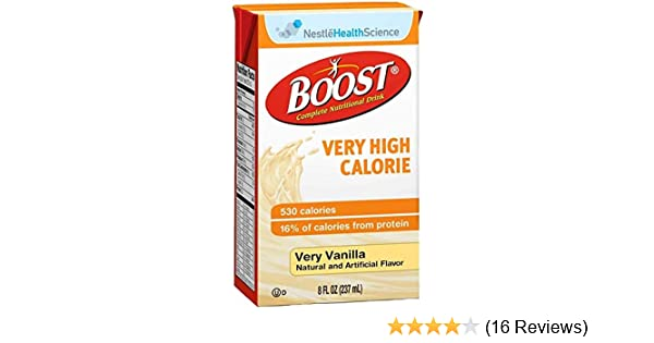 boost very high calorie