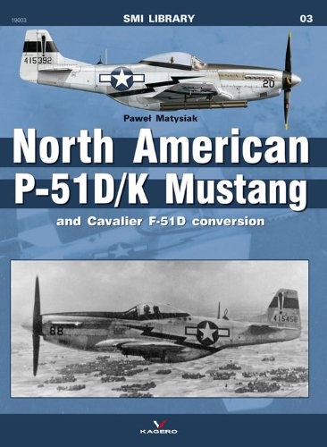 North American P-51D/K Mustang & Cavalier F-51D Conversion (SMI Library KG19003)