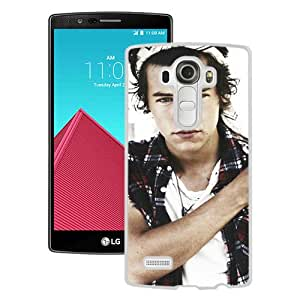 Harry Styles 1 White Personalized Recommended Custom LG G4 Phone Case