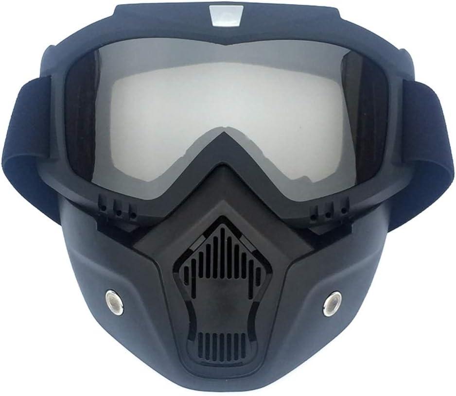 Deportes Gafas de esquí Gafas de snowboard Gafas antivaho Protección UV Casco Gafas de sol de ciclismo (Color : 6, Size : One Size)