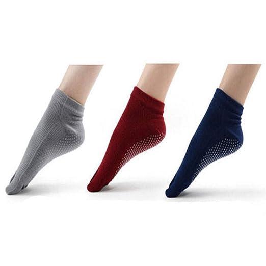 Jiansheng01-ou Calcetines de Yoga, Calcetines de Yoga ...