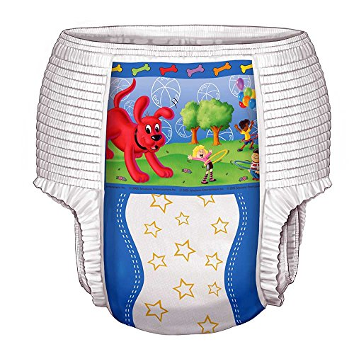 Curity Toddler Training Pants for Boys, Size Medium (Under 34 lbs), Case of 4/26s (104 ()