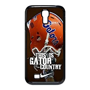 Jany store123 store Custom NCAA Florida Gators with nike logo black plastic Case for SamSung Galaxy S4 I9500 cover
