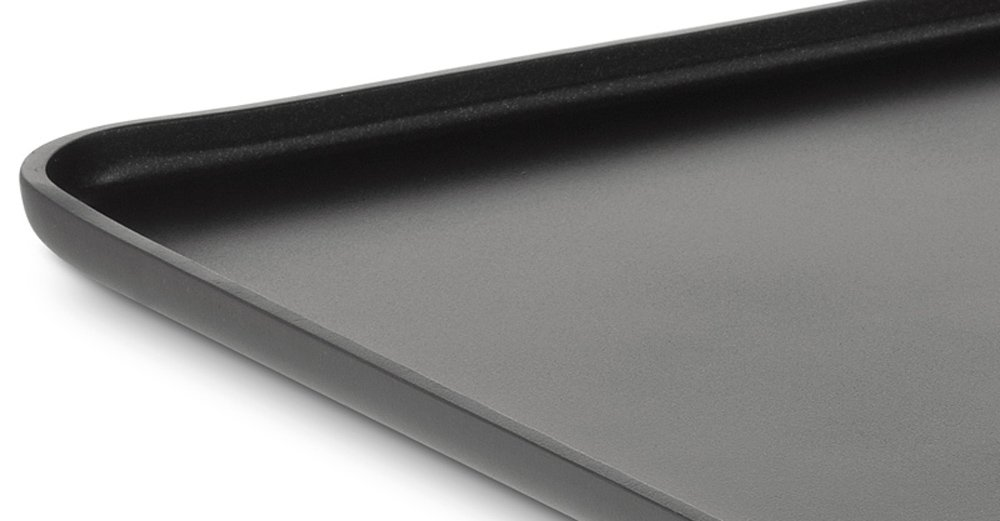 All-Clad 3021 Hard Anodized Aluminum Scratch Resistant Nonstick Anti-Warp Base Square Griddle Specialty Cookware, 11-Inch, Black by All-Clad (Image #4)