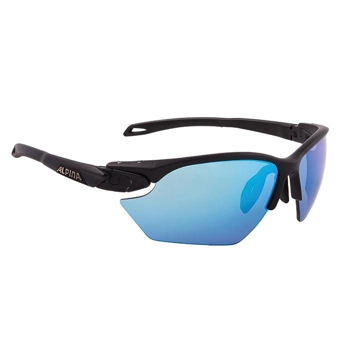 ALPINA TWIST FIVE HR S Sportbrille, black matt,Größen: Einheitsgröße