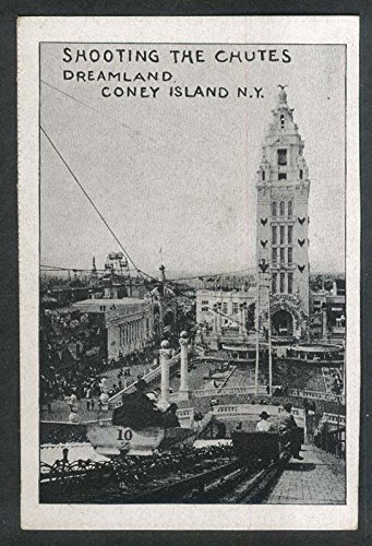 Dreamland Coney Island (Shooting the Chutes Dreamland Coney Island NY undivided back postcard 1900s)