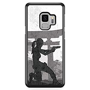 Loud Universe Tomb Raider Action Samsung S9 Case Lara Croft Samsung S9 Cover with Transparent Edges