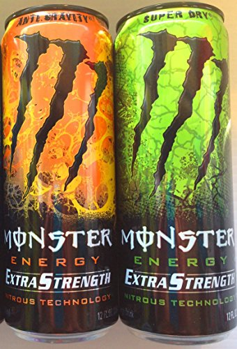 Monster Energy Extra Strength Nitrous Technology Variety ...