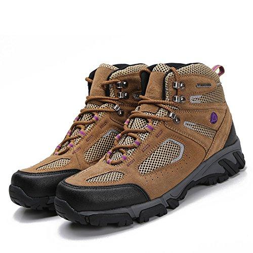 Nave nel deserto traspirante Men's-Scarpe da escursionismo, colore: verde kaki, EUR40)