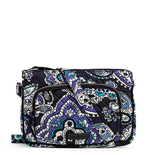 Vera Bradley Signature Cotton Little Hipster Crossbody Purse with RFID Protection