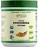 Best Naturals Certified Organic Fenugreek Seed Powder 8.5 OZ (240 Gram), Non-GMO Project Verified & USDA Certified Organic