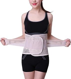 Nalkusxi Ceinture de Taille Confortable à la Taille et à la Pression à 360 ° pour Hommes