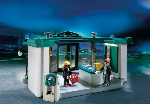 PLAYMOBIL® Bank with Safe by PLAYMOBIL® (Image #1)