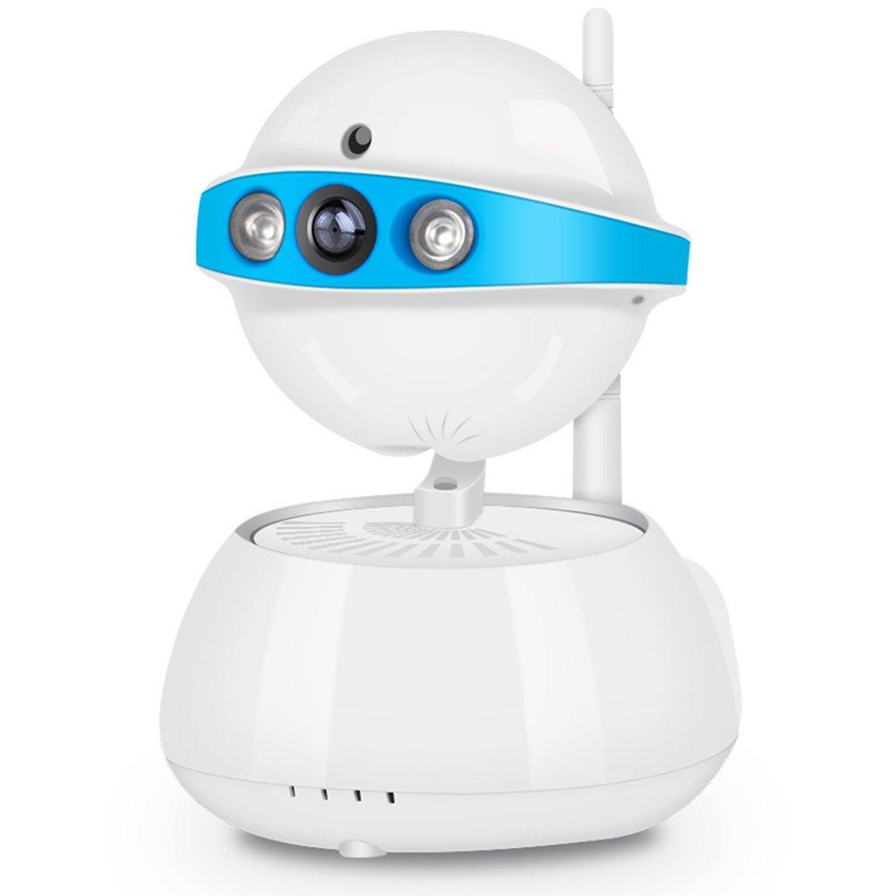 HZJ Cámara Giratoria Inalámbrica Inteligente De WiFi 355 ° En Interiores - Monitoreo Remoto De Teléfono Móvil 2 Millones De Píxeles Detección De Movimiento ...