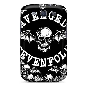 High Quality Shock Absorbing Case For Galaxy S3-avenged Sevenfold