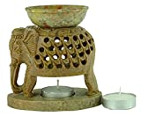 Best Home Decor Oil Warmers - Aromatherapy Wax Marble Burner Tealight Diffuser Fragrance Oil Review