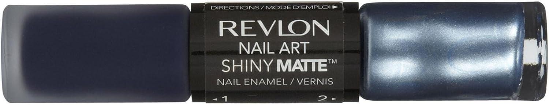 Revlon Nail Art Shiny Matte - Pinstripe