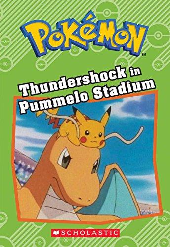Thundershock in Pummelo Stadium (Pokémon: Chapter Book) Photo